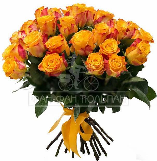 roses_kenia_25_orange_in_bouquet_po_akcii